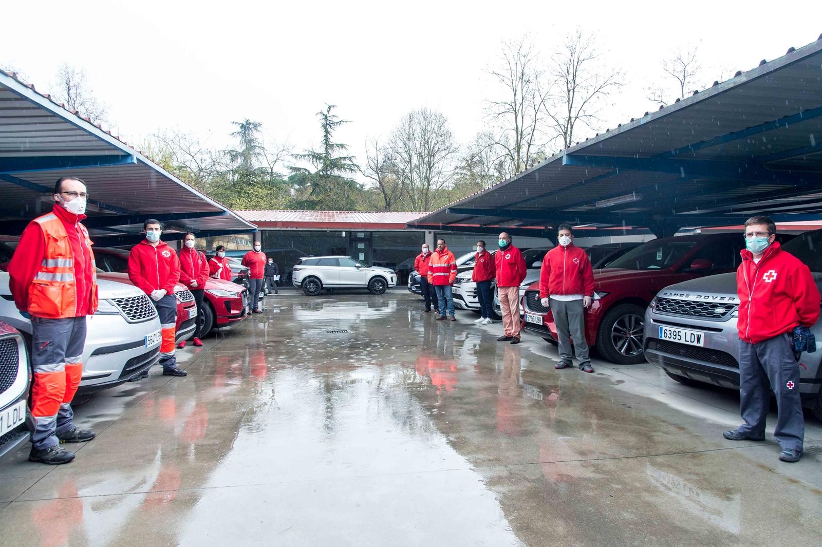 Jaguar Land Rover Cruz Roja