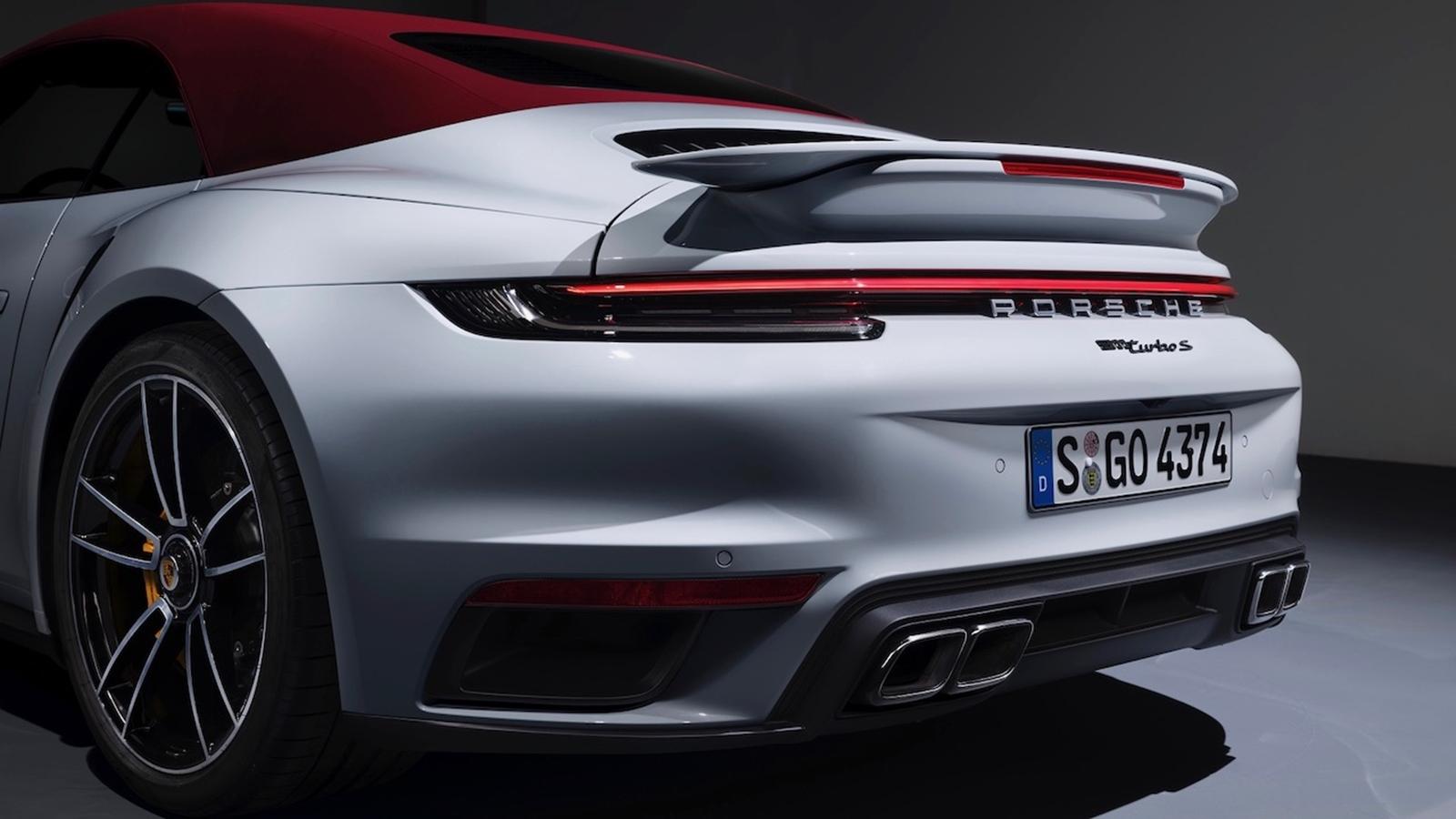 Porsche 911 Turbo S Cabrio (1)