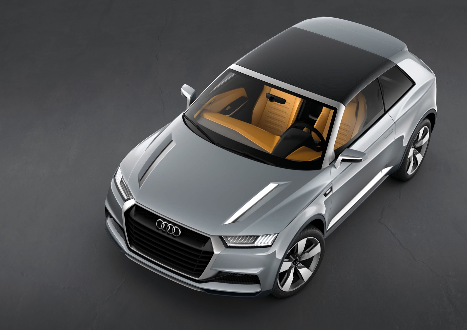 Concept Car Audi Crosslane Coup /standaufnahme