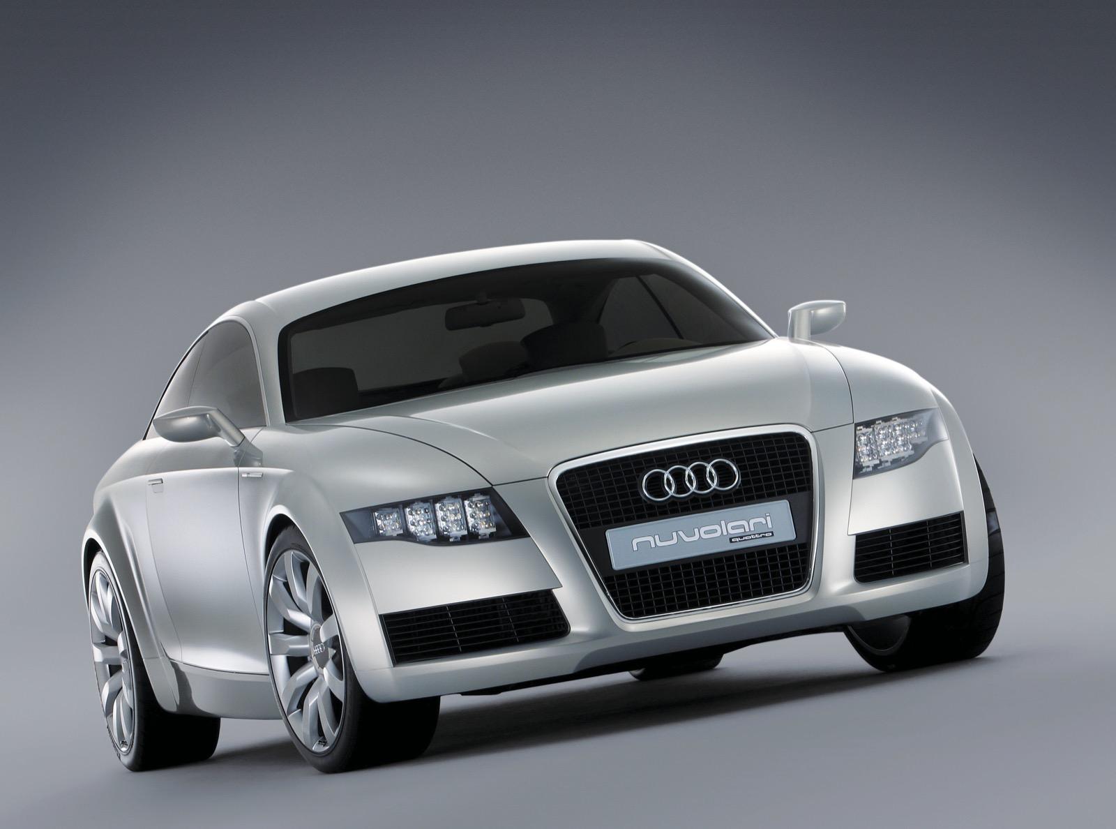 Audi Nuvolari Quattro, A Vision Of A Sporty Gt (gran Turismo) Vehicle