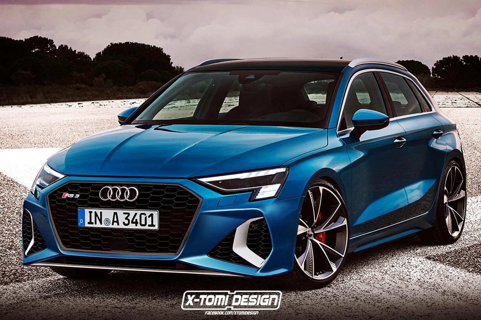 Audi Rs3 2021 Render 1
