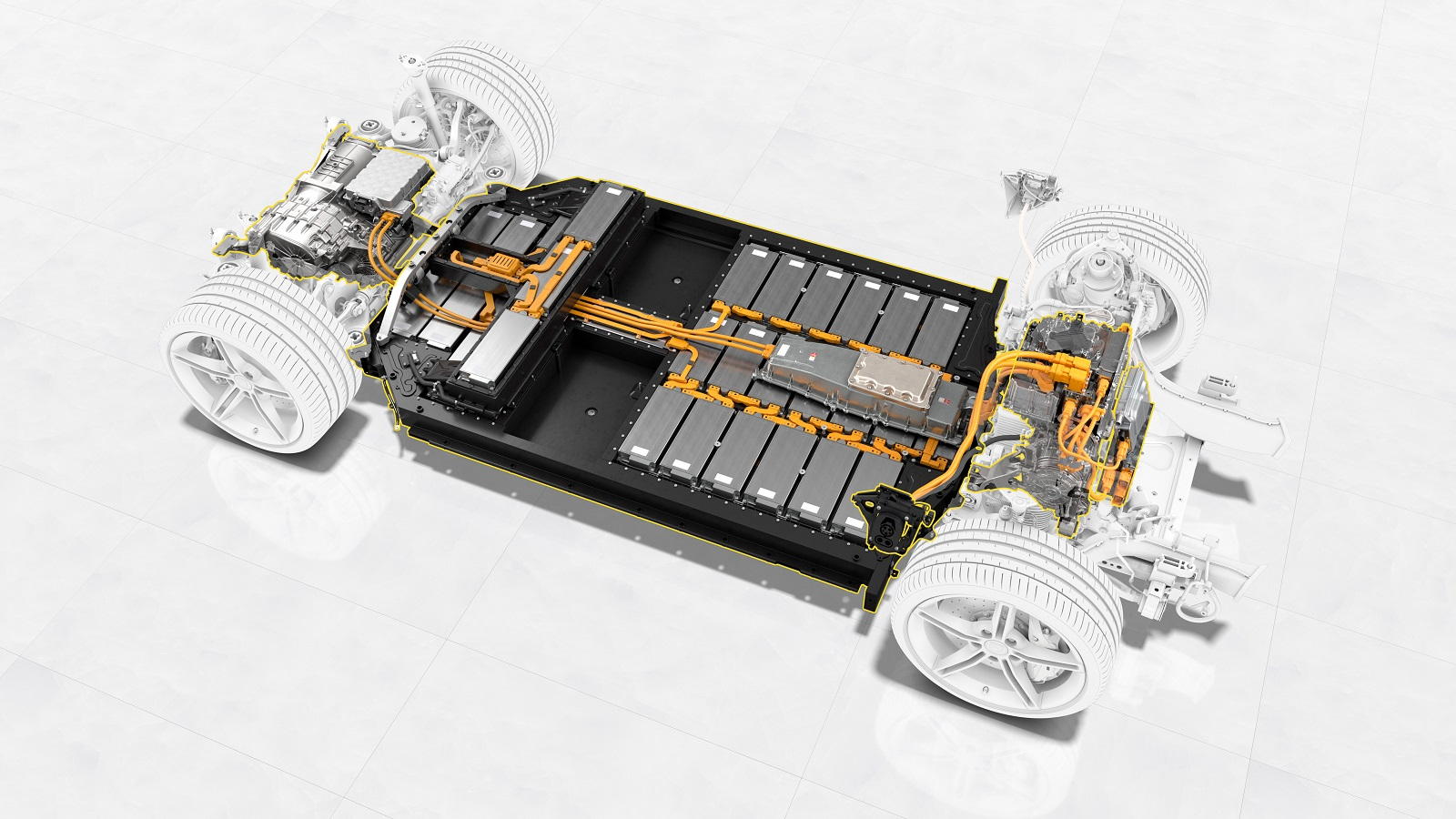 Bateria Porsche Taycan