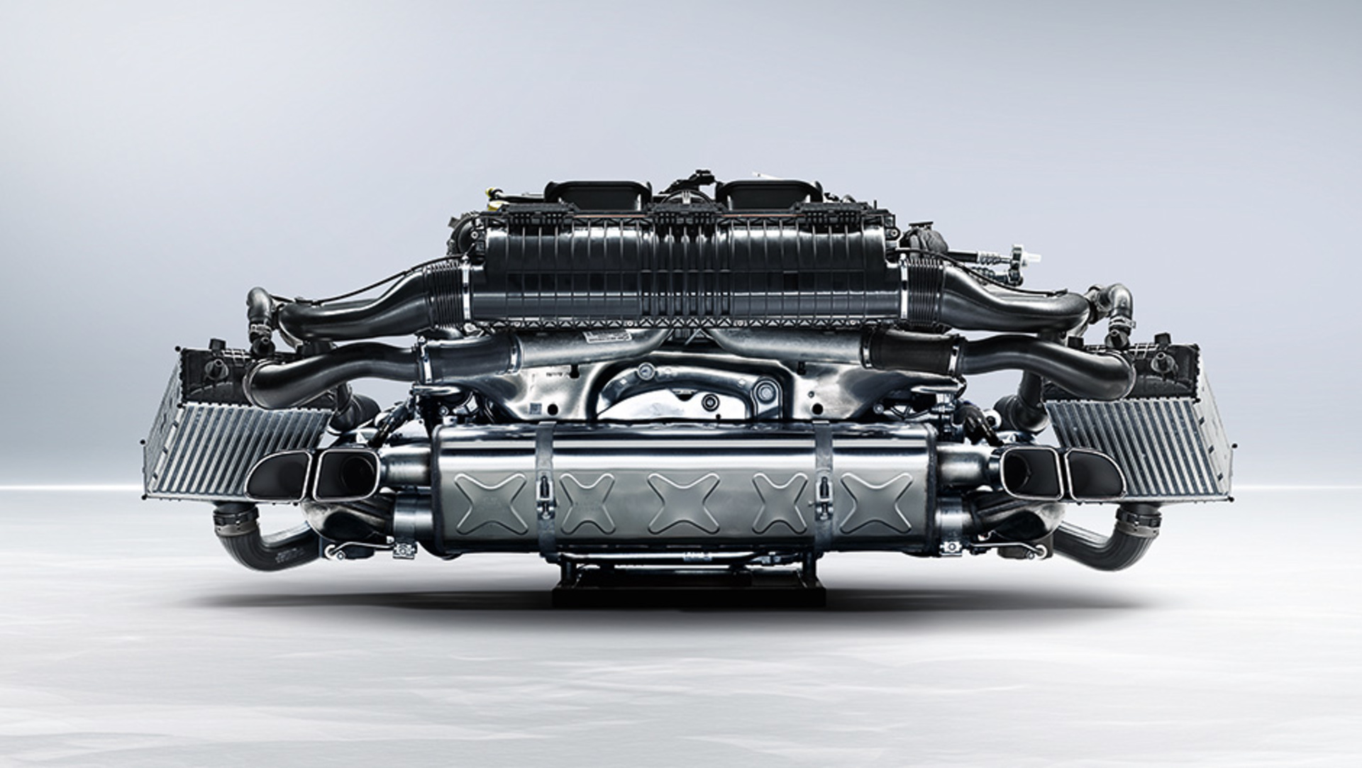 Boxer Engines In The 911 Turbo 2014 Porsche Ag