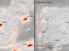 Contaminacion Espana Marzo 2020