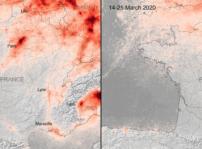 Contaminacion Francia Marzo 2020