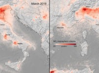 Contaminacion Italia Marzo 2020