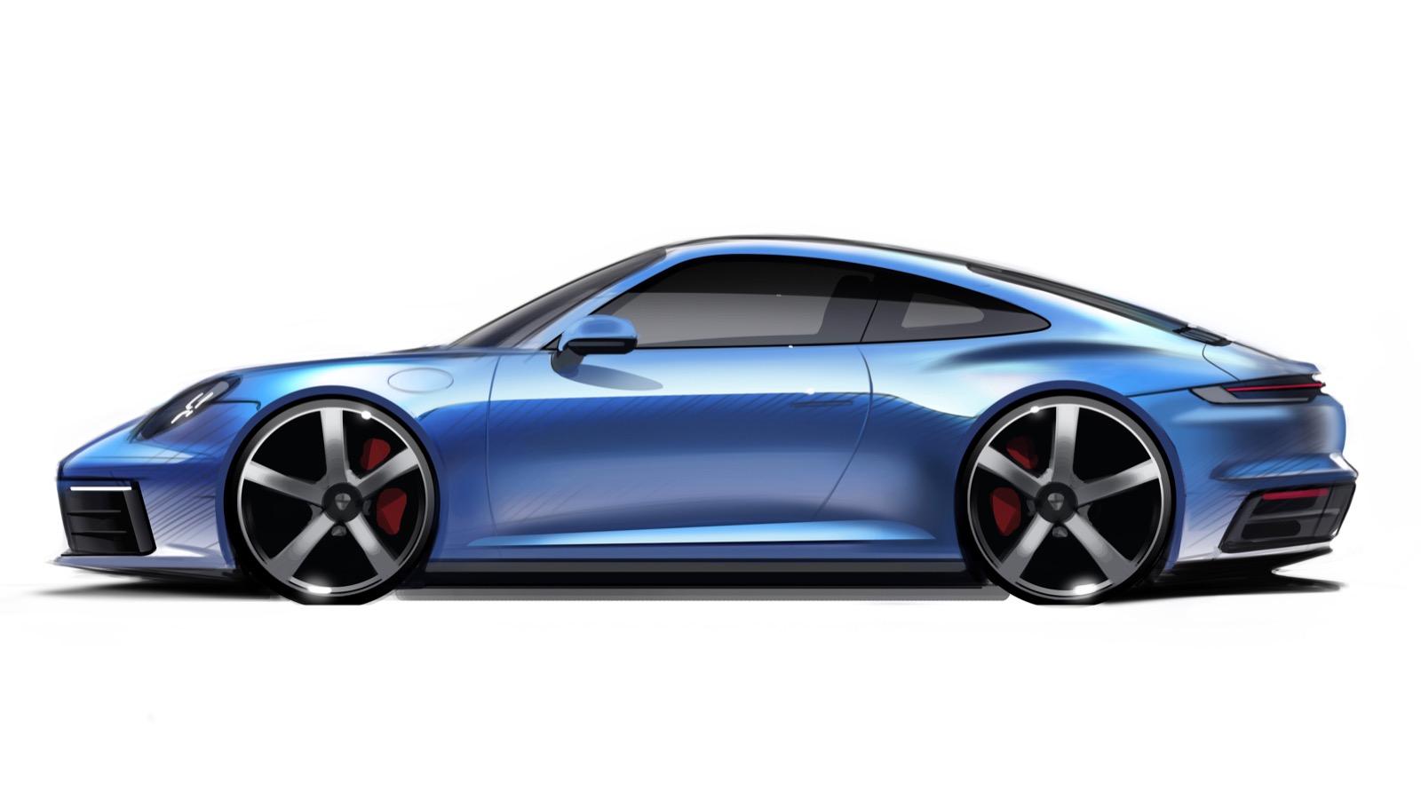 Porsche 911 Bocetos 11
