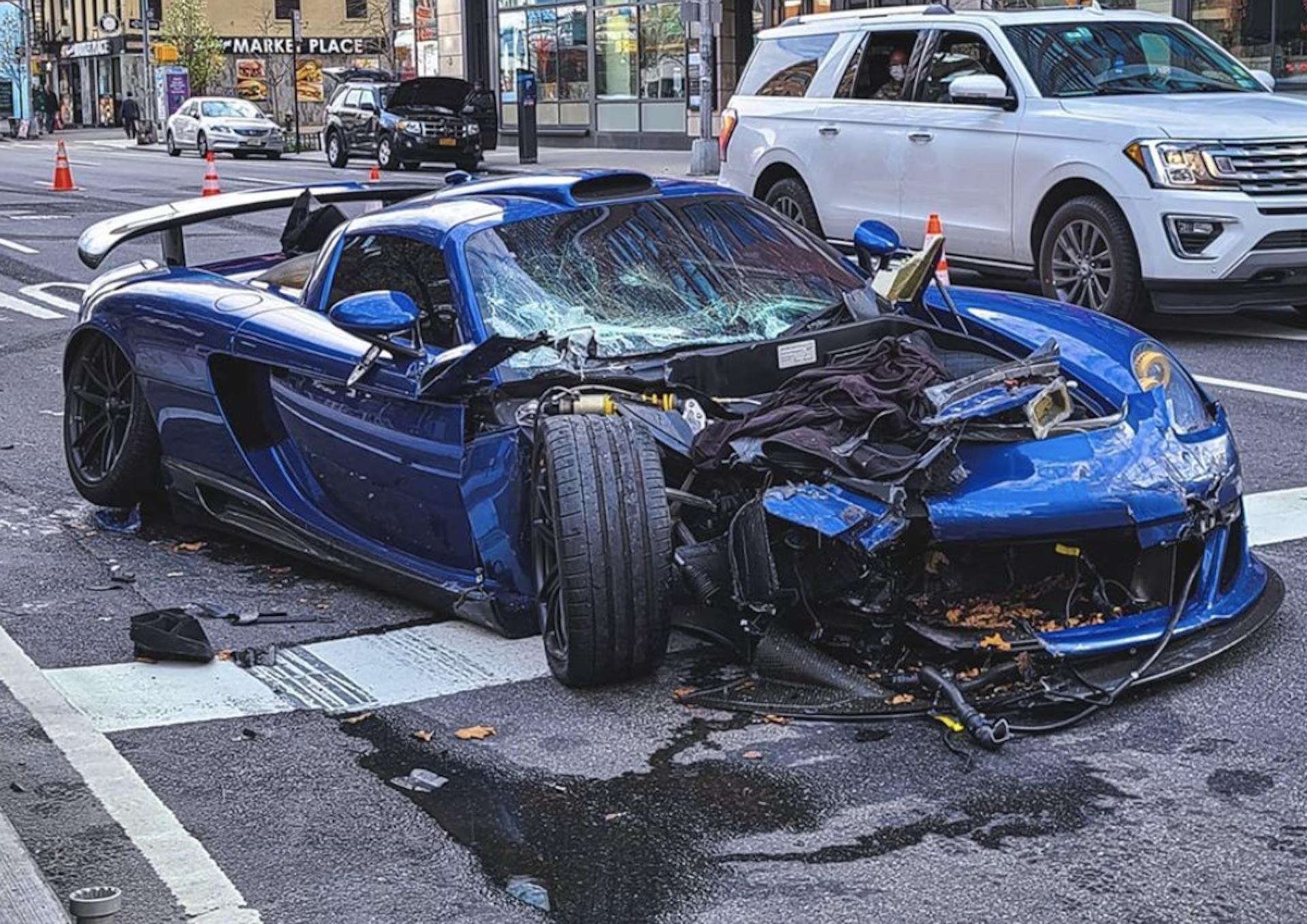 Porsche Carrera Gt Accidente 1