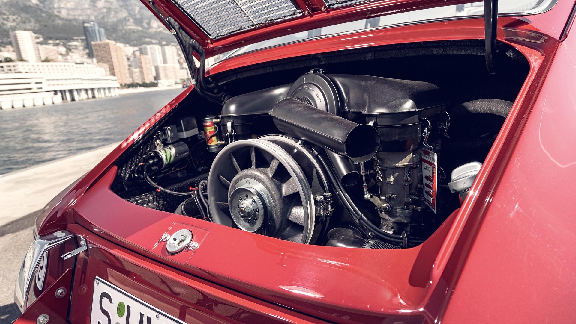 Porsche Monte Carlo 911 1965 Two Liter Six Cylinder Boxer Engine Porsche Ag