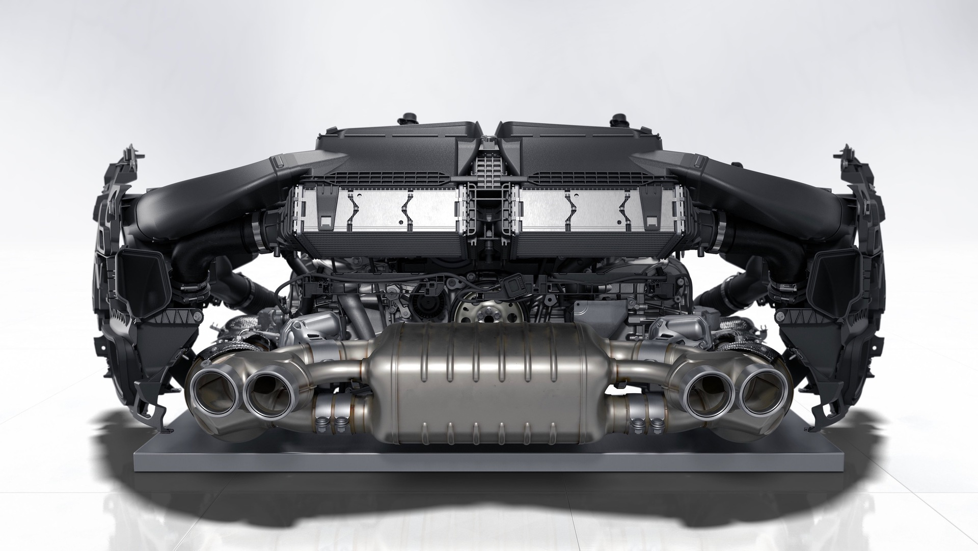 Six Cylinder Boxer Engine 2019 Porsche Ag
