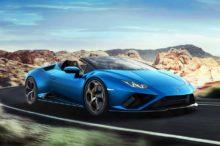 Lamborghini Huracán EVO RWD Spyder, descapotable con 610 CV directos al eje trasero