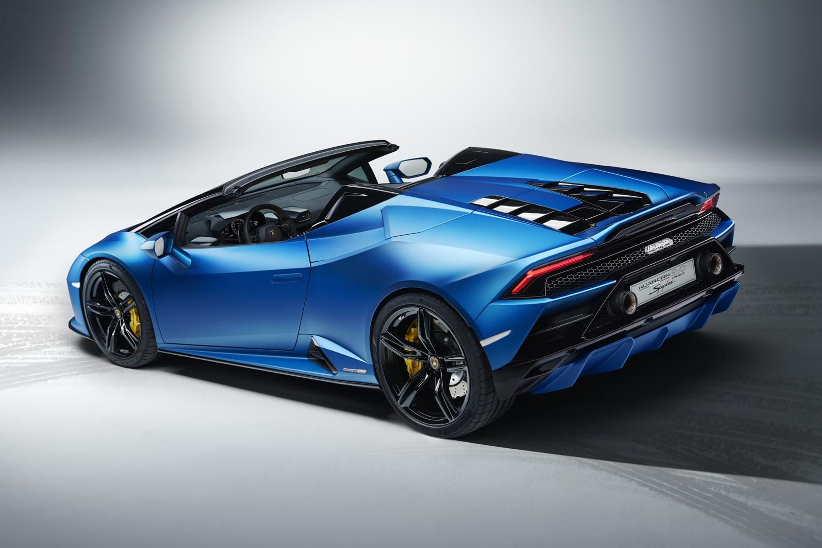 Lamborghini Huracán Evo Rwd Spyder (6)