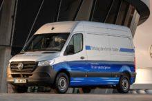 Mercedes-Benz comienza las ventas de la eSprinter, su nuevo furgón 100% eléctrico