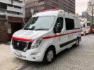 Se estrena en Japón la primera ambulancia eléctrica basada en el NV400 Zero Emission