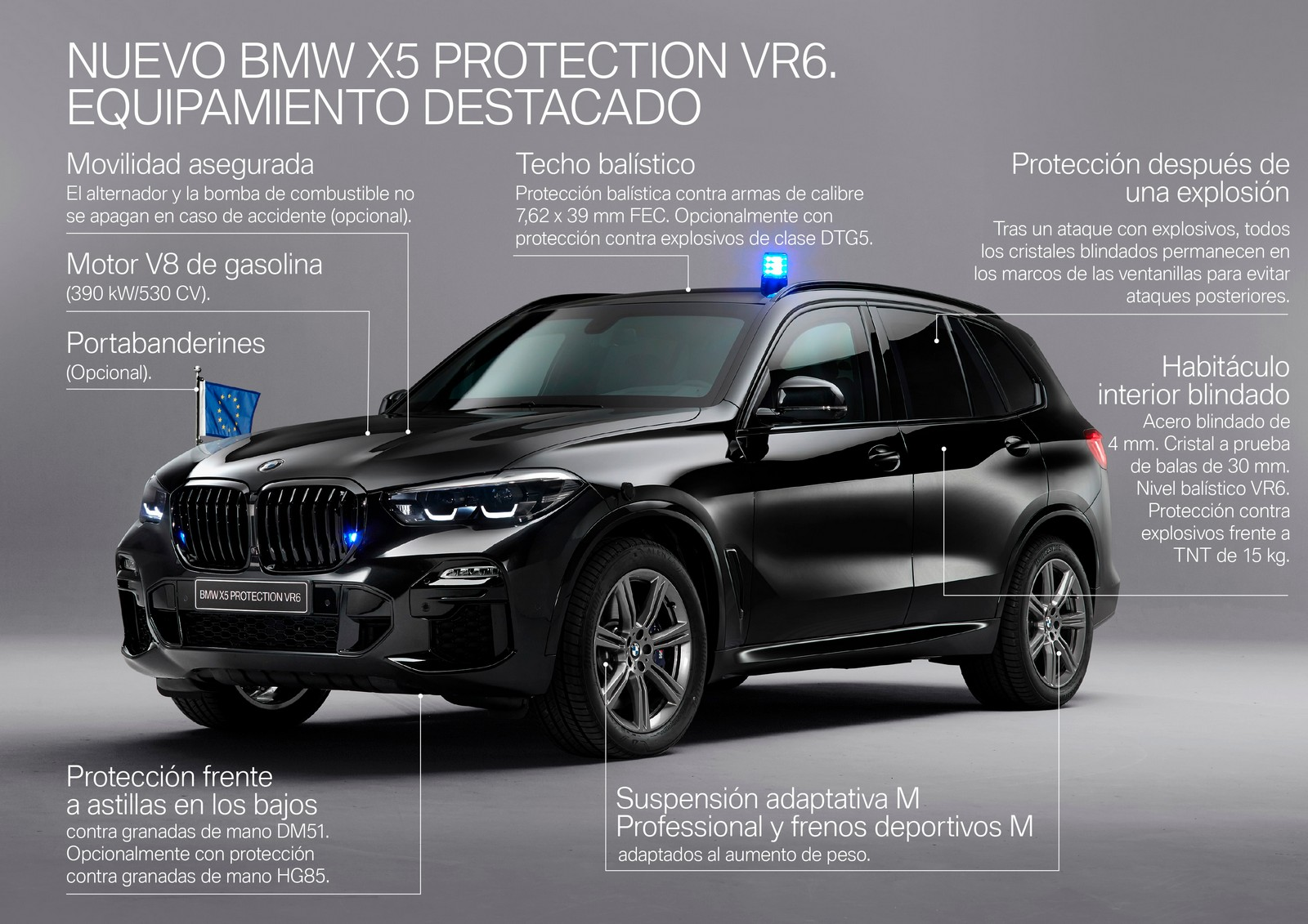 Bmw X5 Protection V6 40