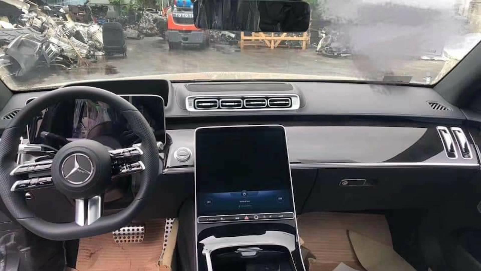 Mercedes Clase S 2021 Filtracion 1