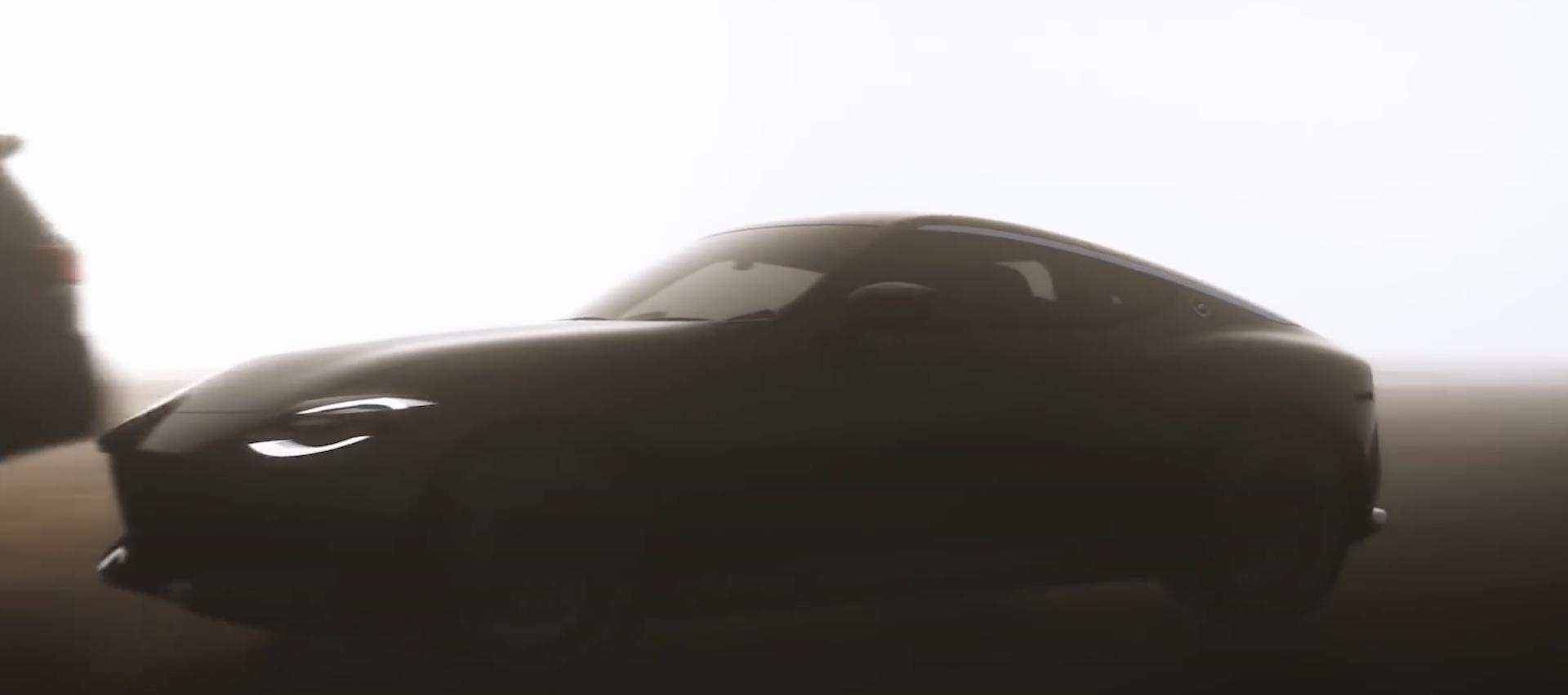 Nissan 400z Teaser 2021 1