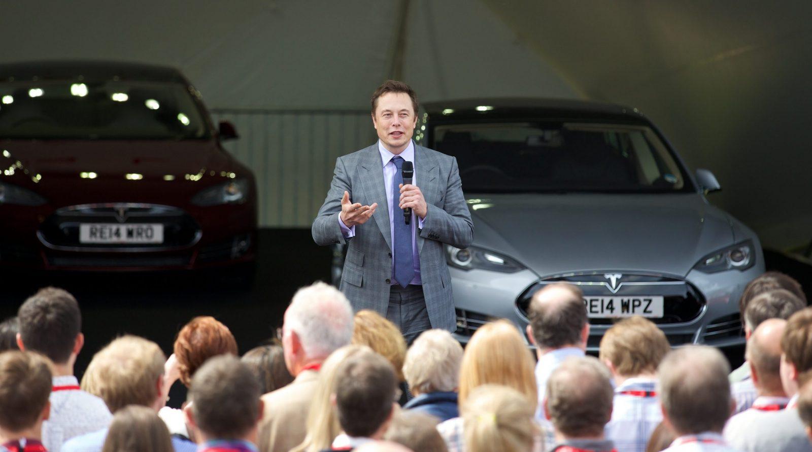 News Tesla Motors Model S Uk Launch