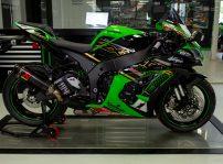 Kawasaki Ninja Zx 10r Krtw Sbk Réplica (2)