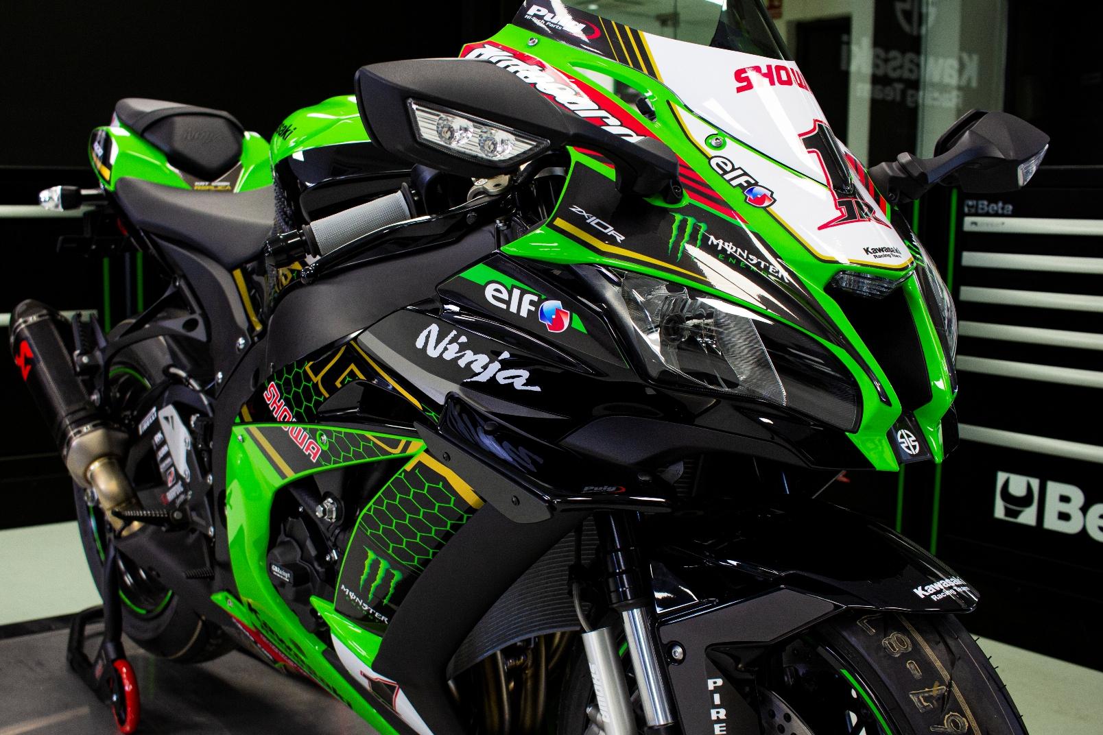 Kawasaki Ninja Zx 10r Krtw Sbk Réplica (3)