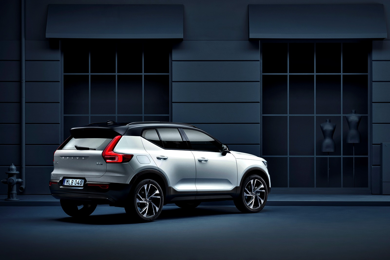 Xc40 R Design Expression, In Crystal White Pearl