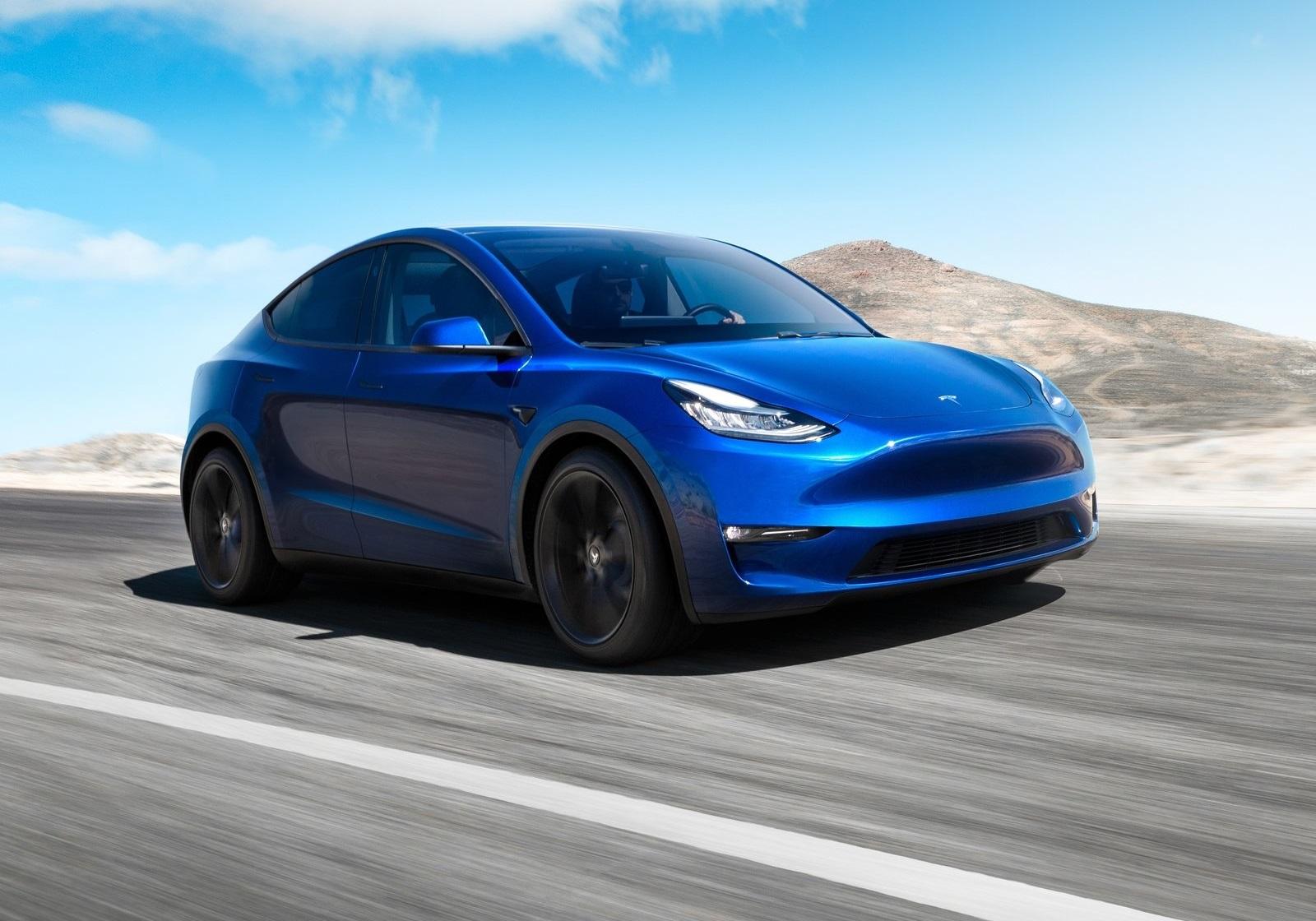 Fabricacion Del Tesla Model Y
