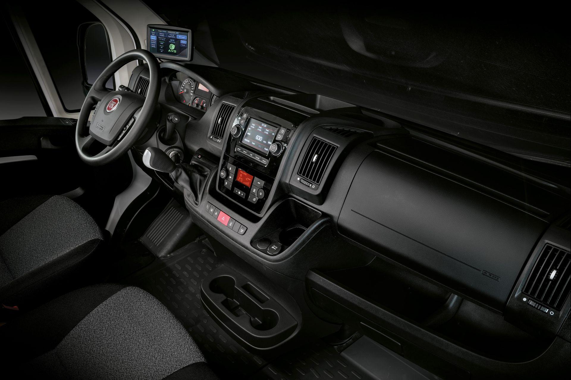 Fiat E Ducato Interior 2020
