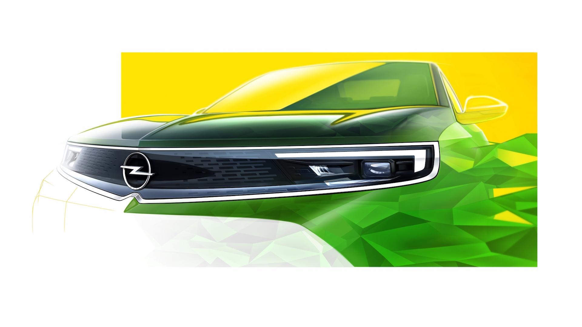 Opel Mokka Teaser Frontal 1