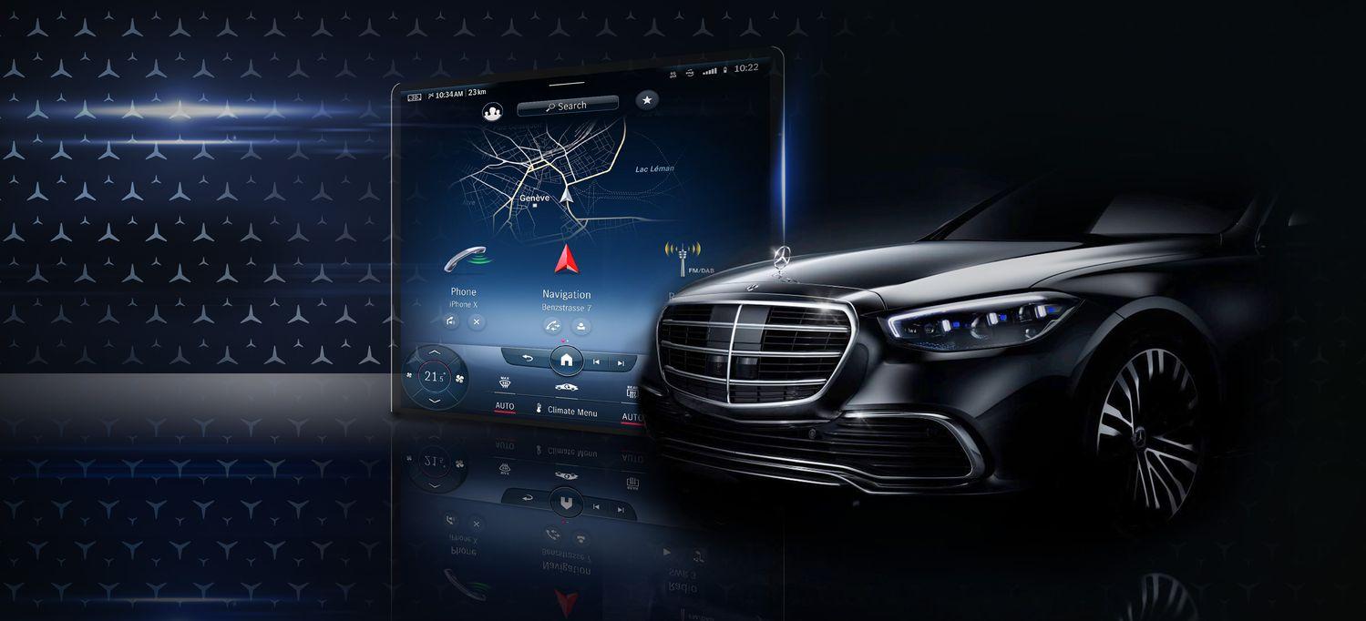 2021 Mercedes Benz S Class Interior Mbux Infotainment System Teaser