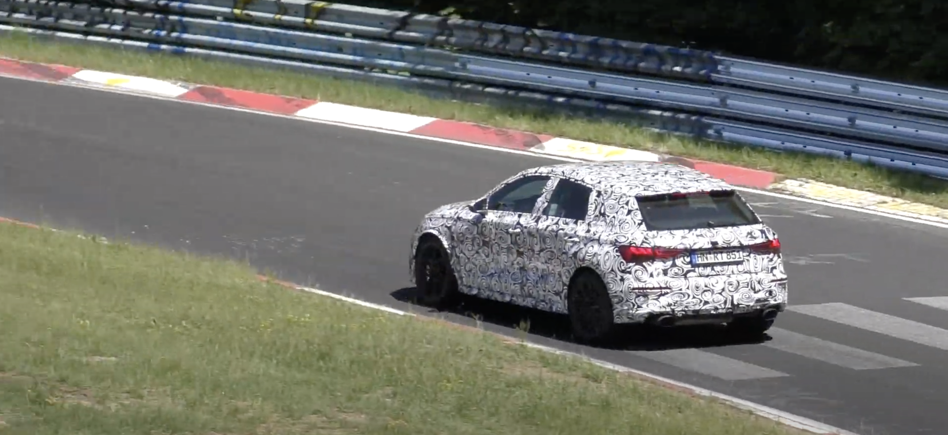 Audi Rs3 Nurburgring 2