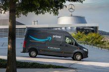 Amazon Europa electrifica su flota con 1.800 Mercedes eléctricos