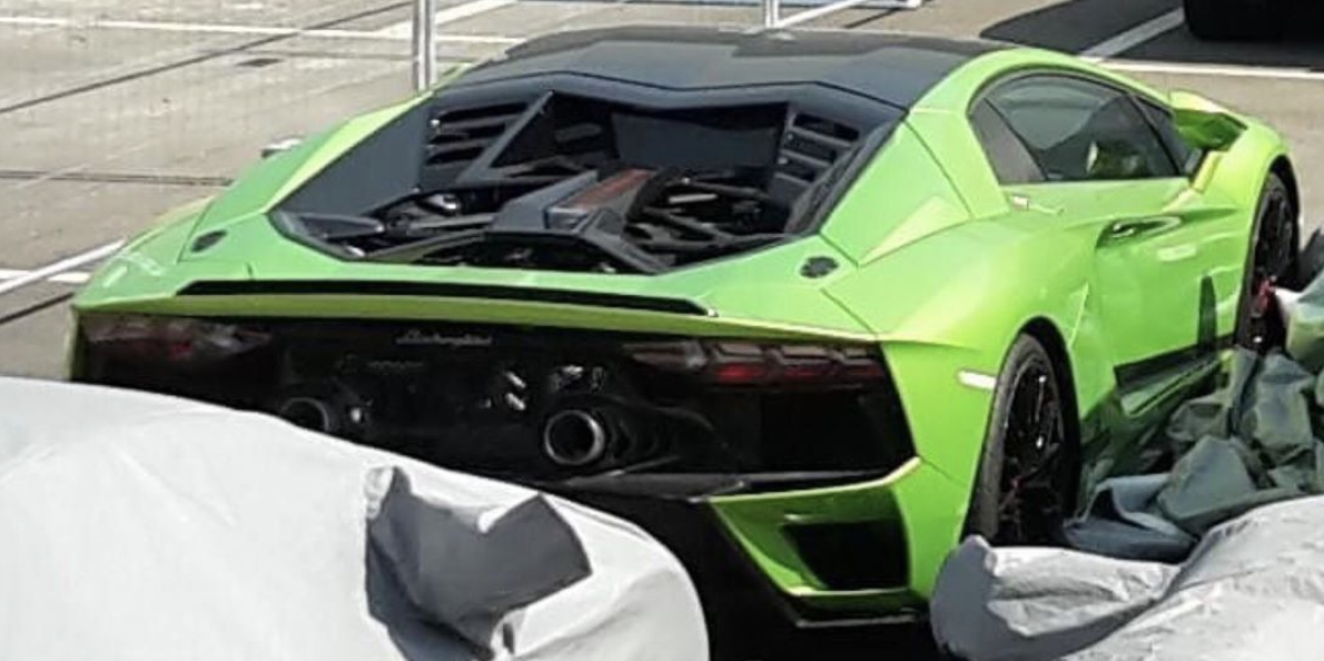 Lamborghini Aventador Evo Mula Pruebas 2