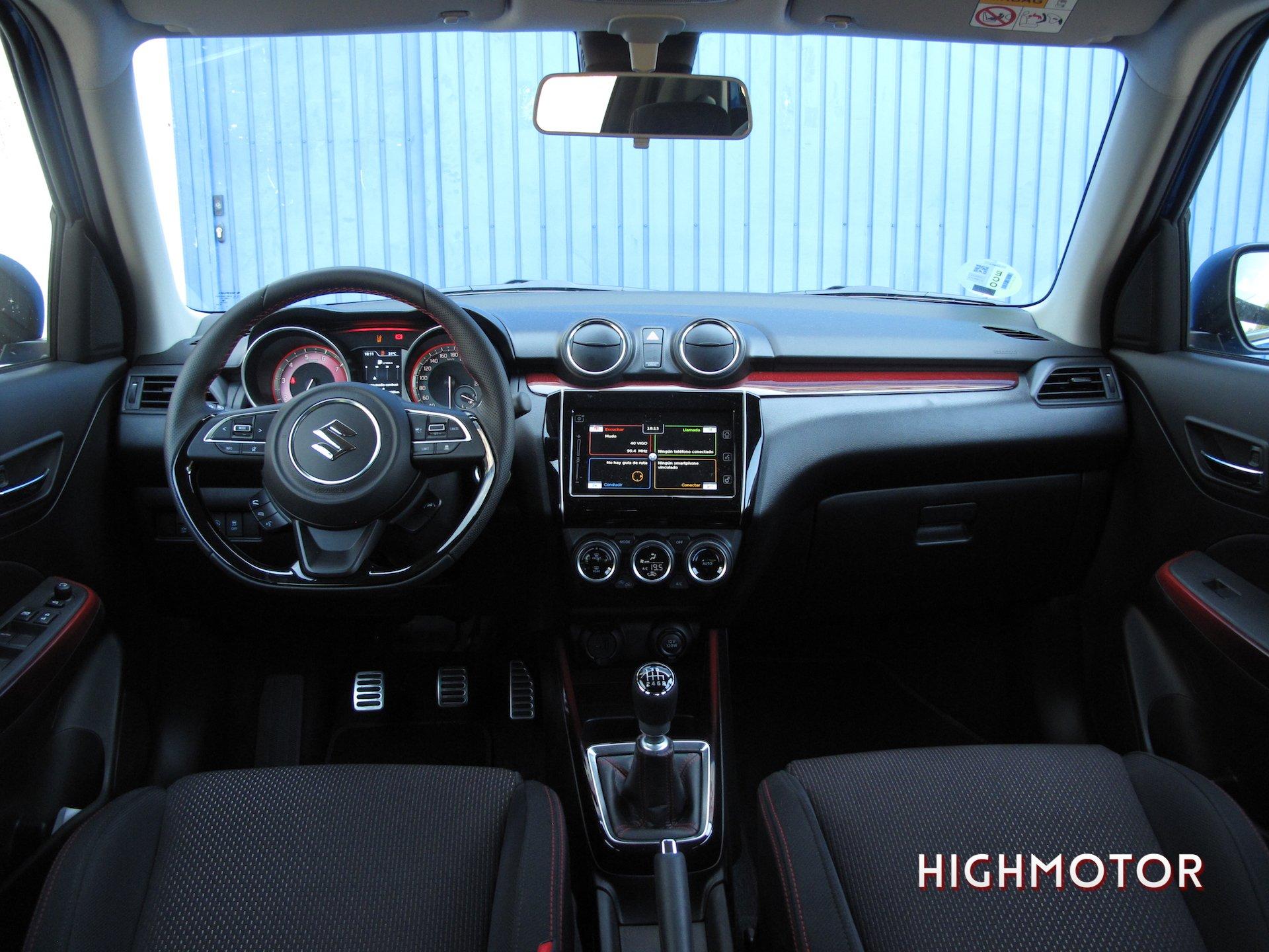 Prueba Suzuki Swift Sport Hybrid13