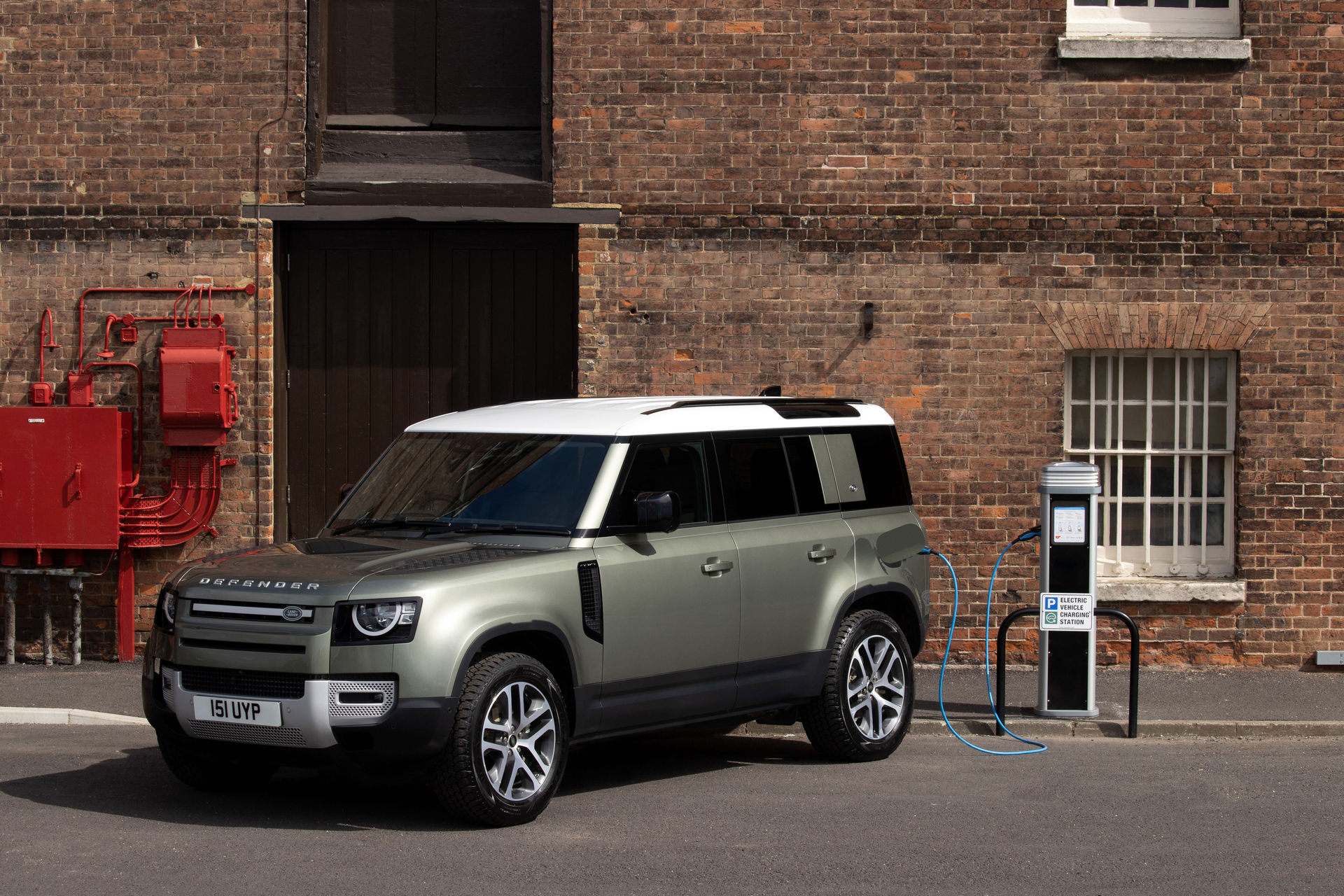 Land Rover Defender Hibrido Enchufable