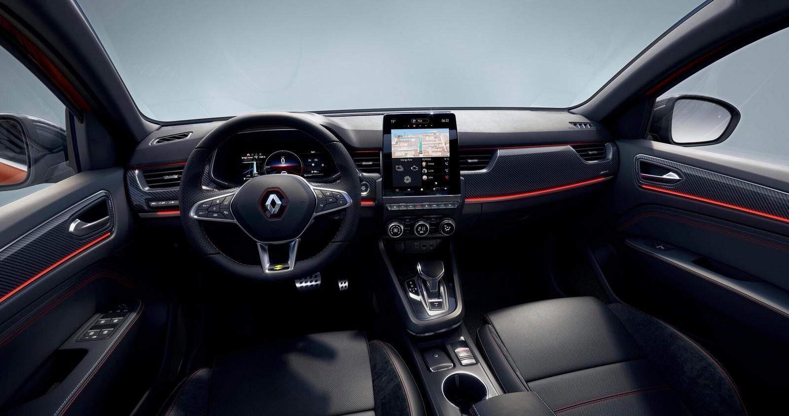 Renault Arkana E Tech (ljl Europe Hev), Renault Megane Conquest E Tech (ljl Adriatic Hev)