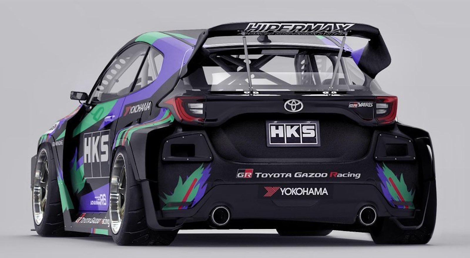 Toyota Gr Yaris Modificaciones 2jz 2
