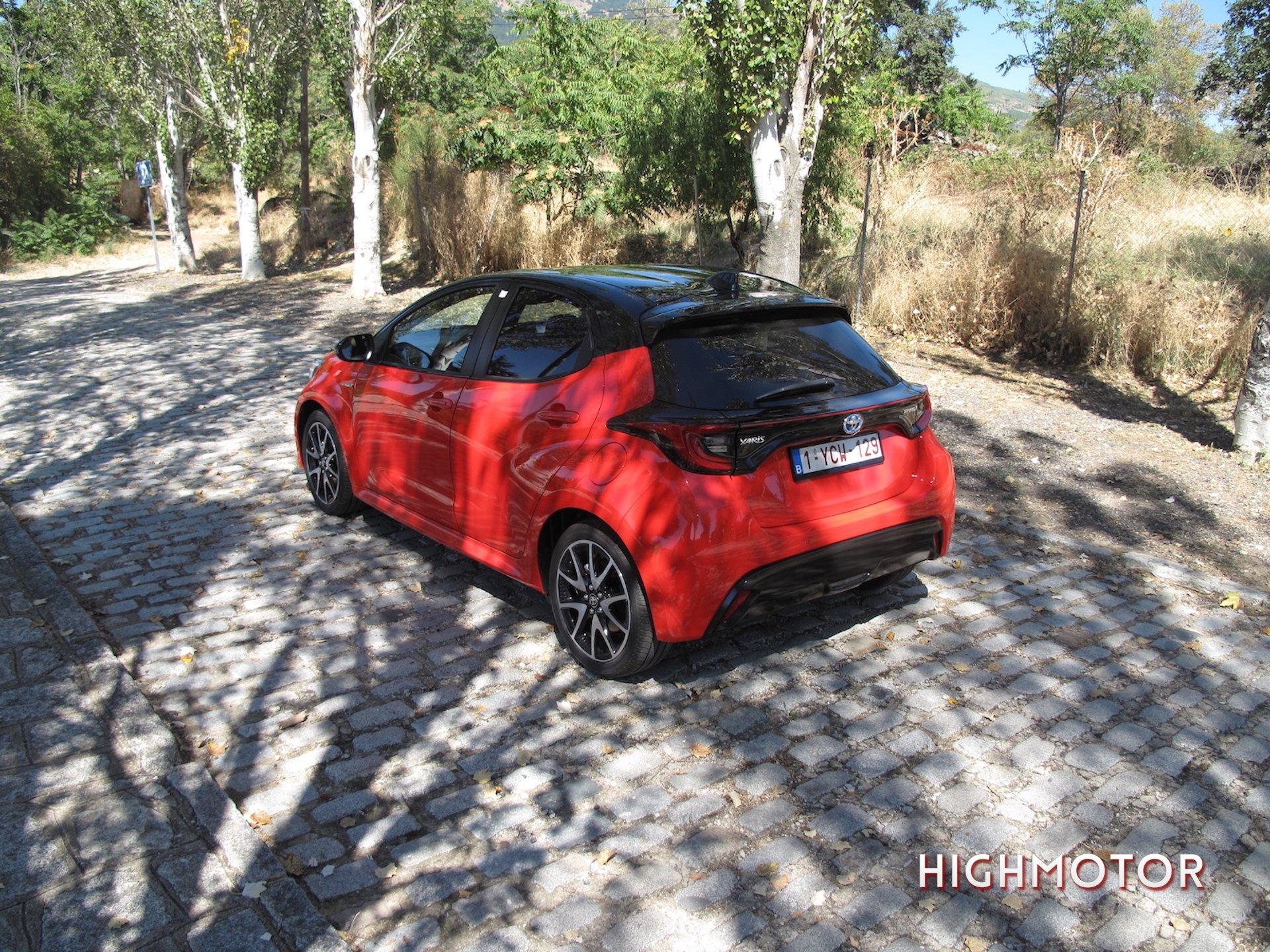 Toyota Yaris Hybird 2020 Prueba7