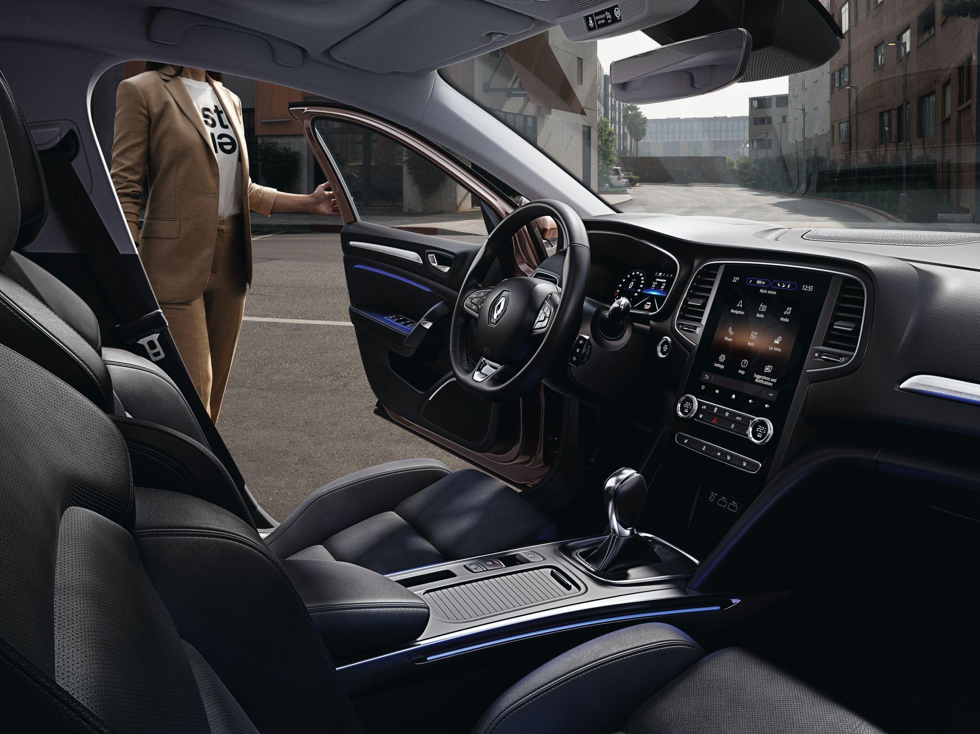 2021 Renault Megane Facelift Interior