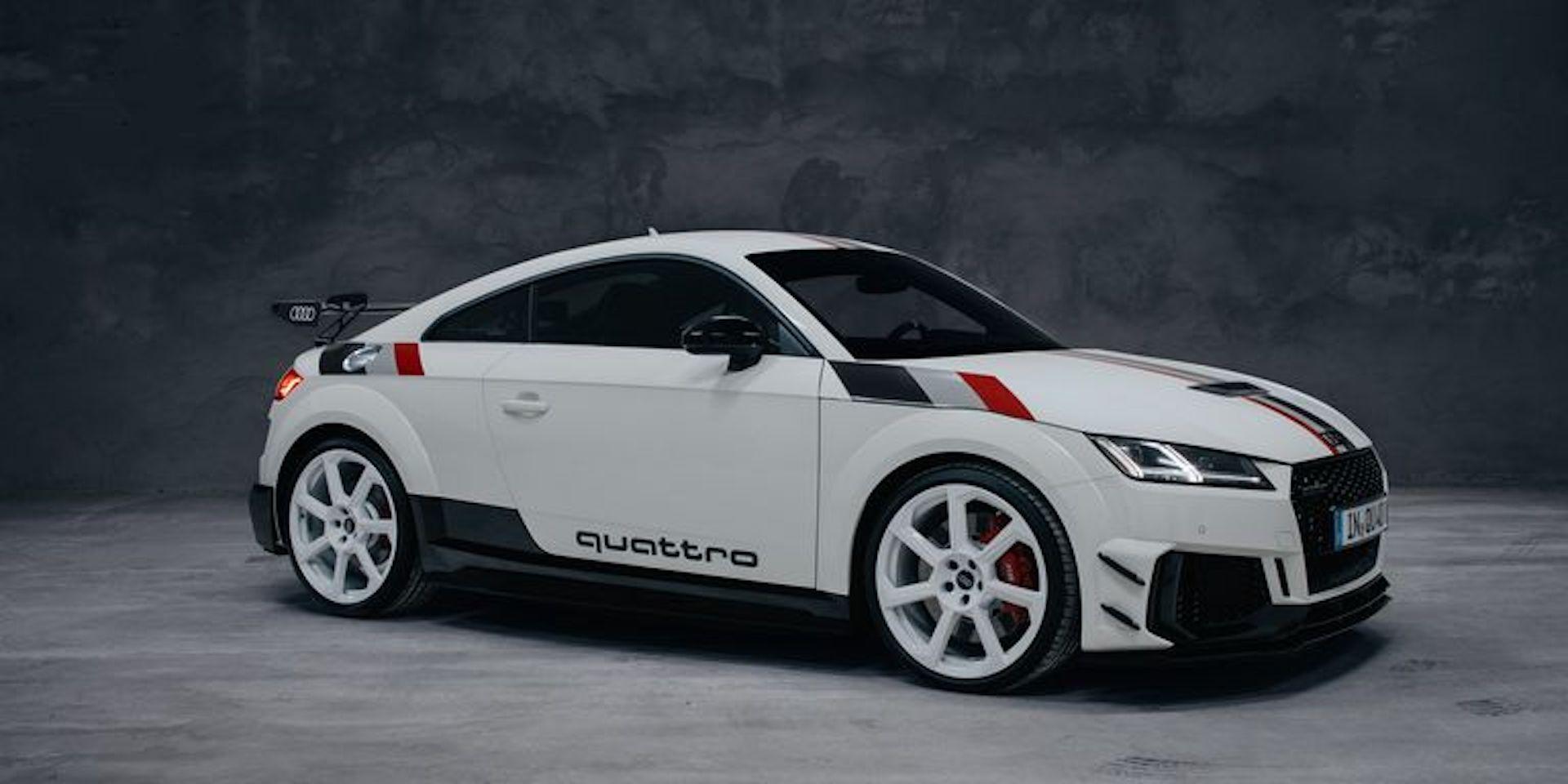 Audi Tt Rs 40 Years Of Quattro Edicion Especial 2