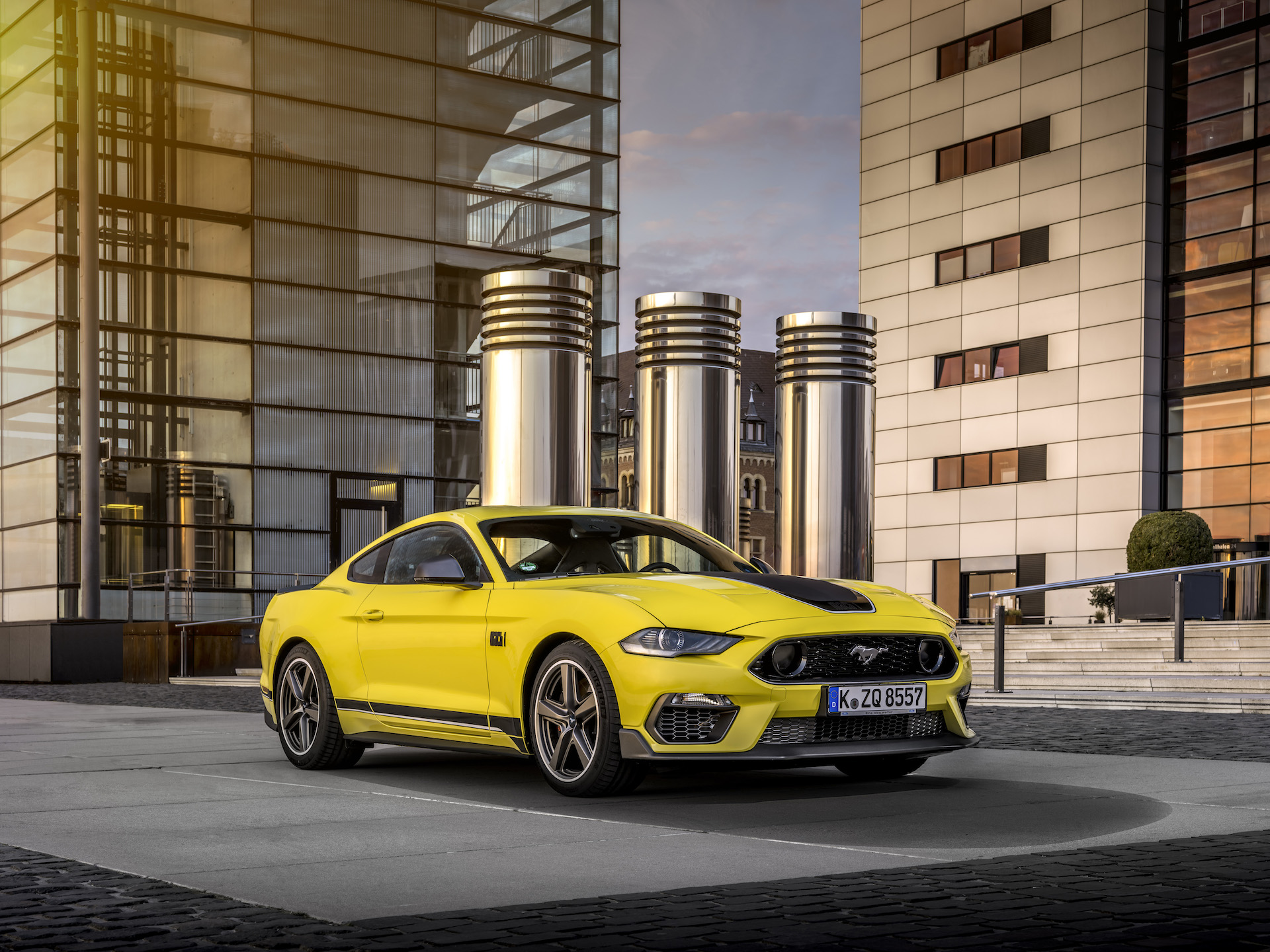 High Performance Icon To Reach European Customers For The First Time As Ford Mustang Mach 1 Debuts At Goodwood