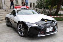 El Lexus LC 500 de la policía japonesa ya está listo para perseguir malhechores