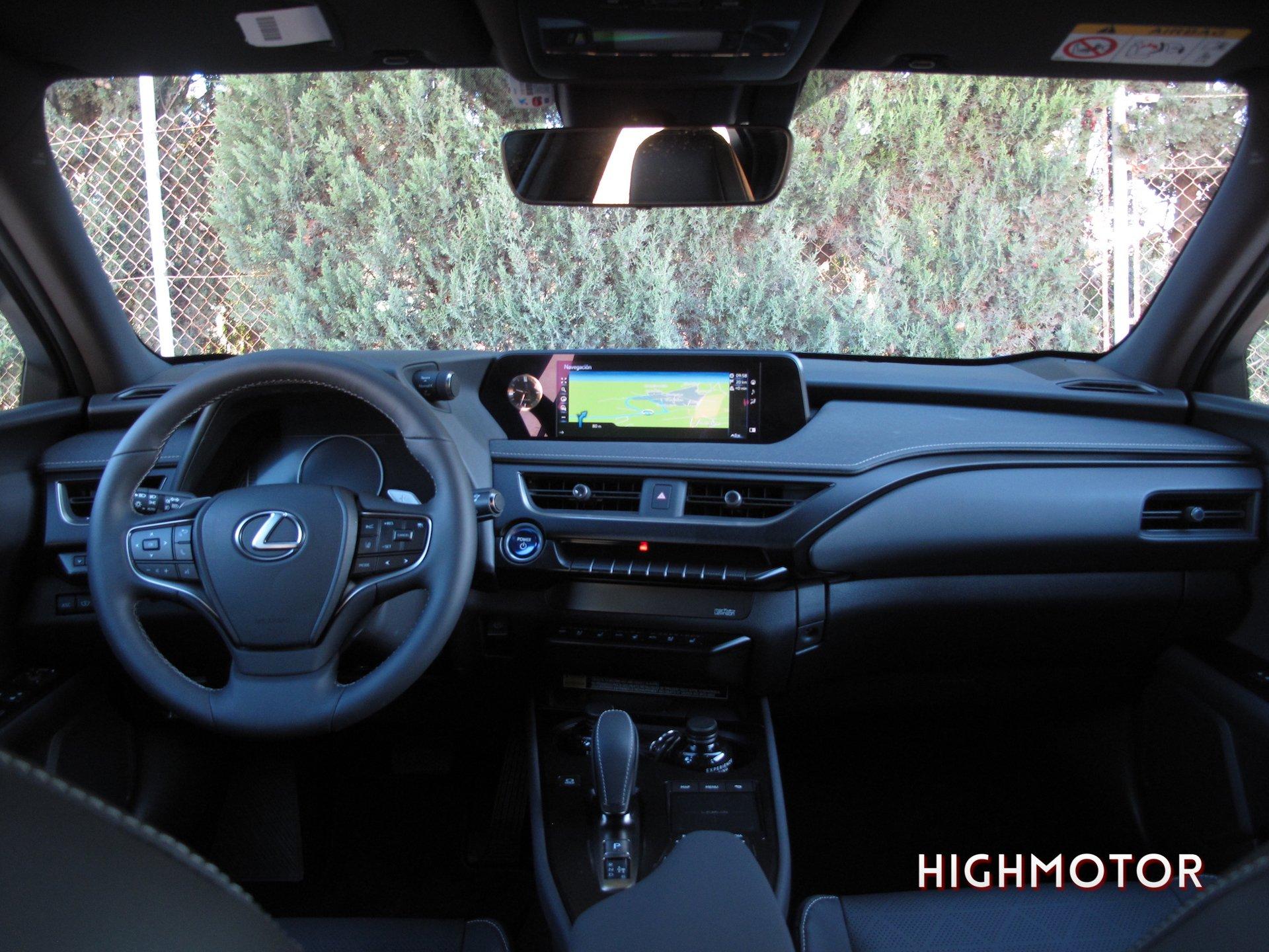 Prueba Lexus Ux 300e2