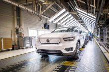 Comienza la fabricación del Volvo XC40 Recharge en Gante (Bélgica)