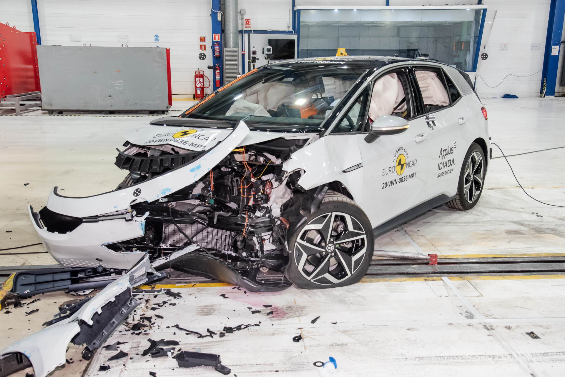 Vw Id3 Euro Ncap Crash Test 2
