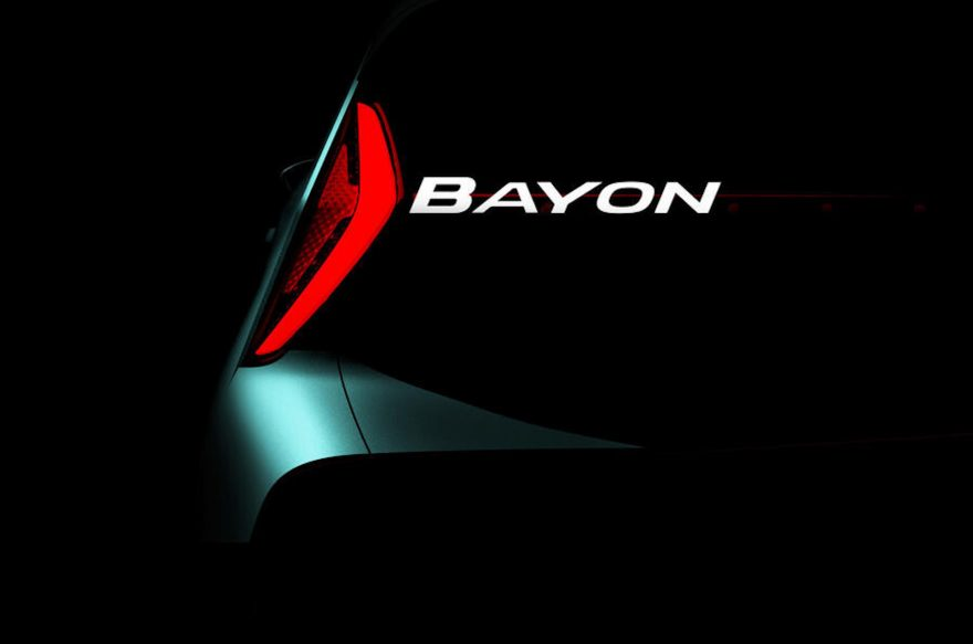 Hyundai Bayon 2021 Teaser 1