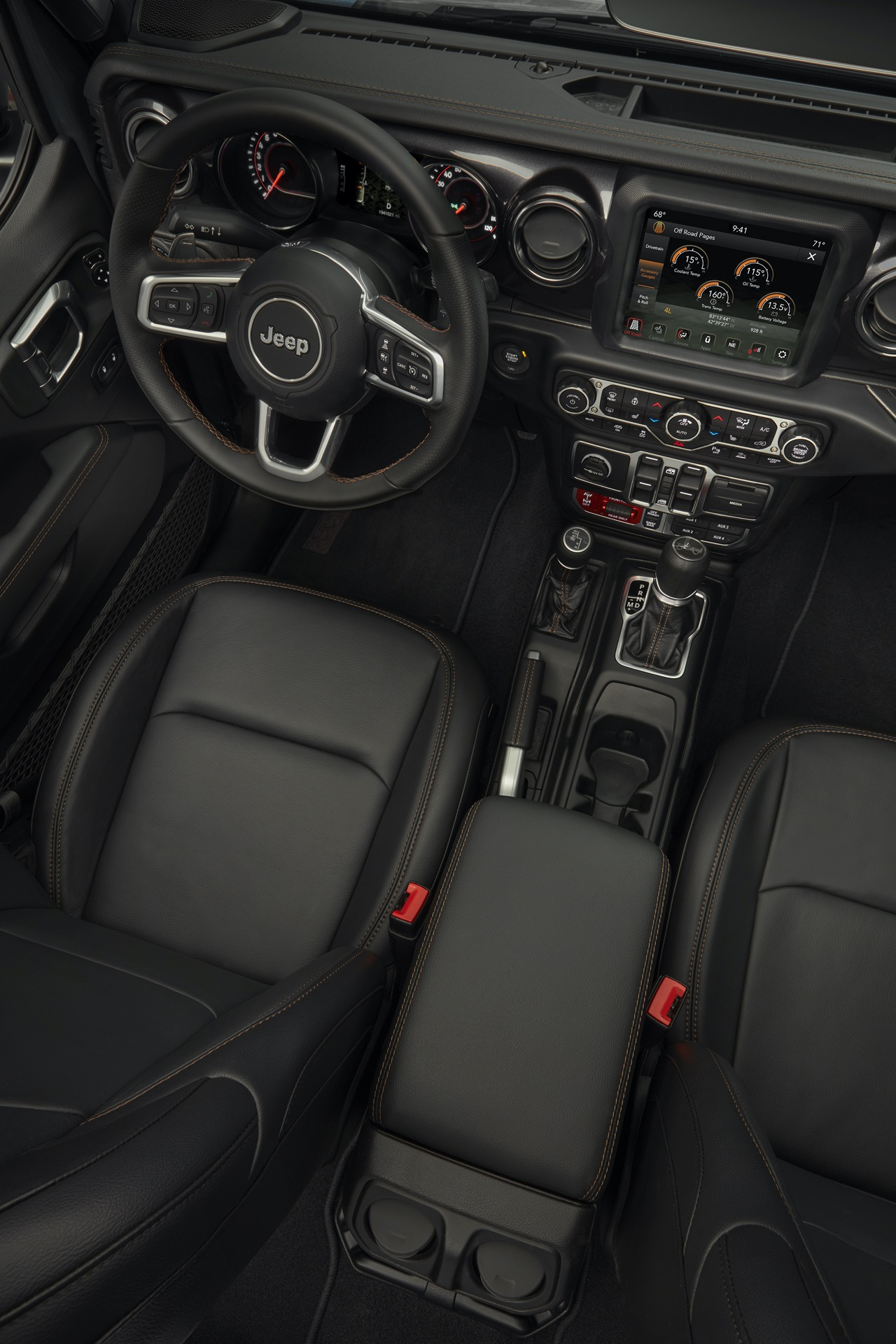2021 Jeep® Wrangler Rubicon 392 Interior
