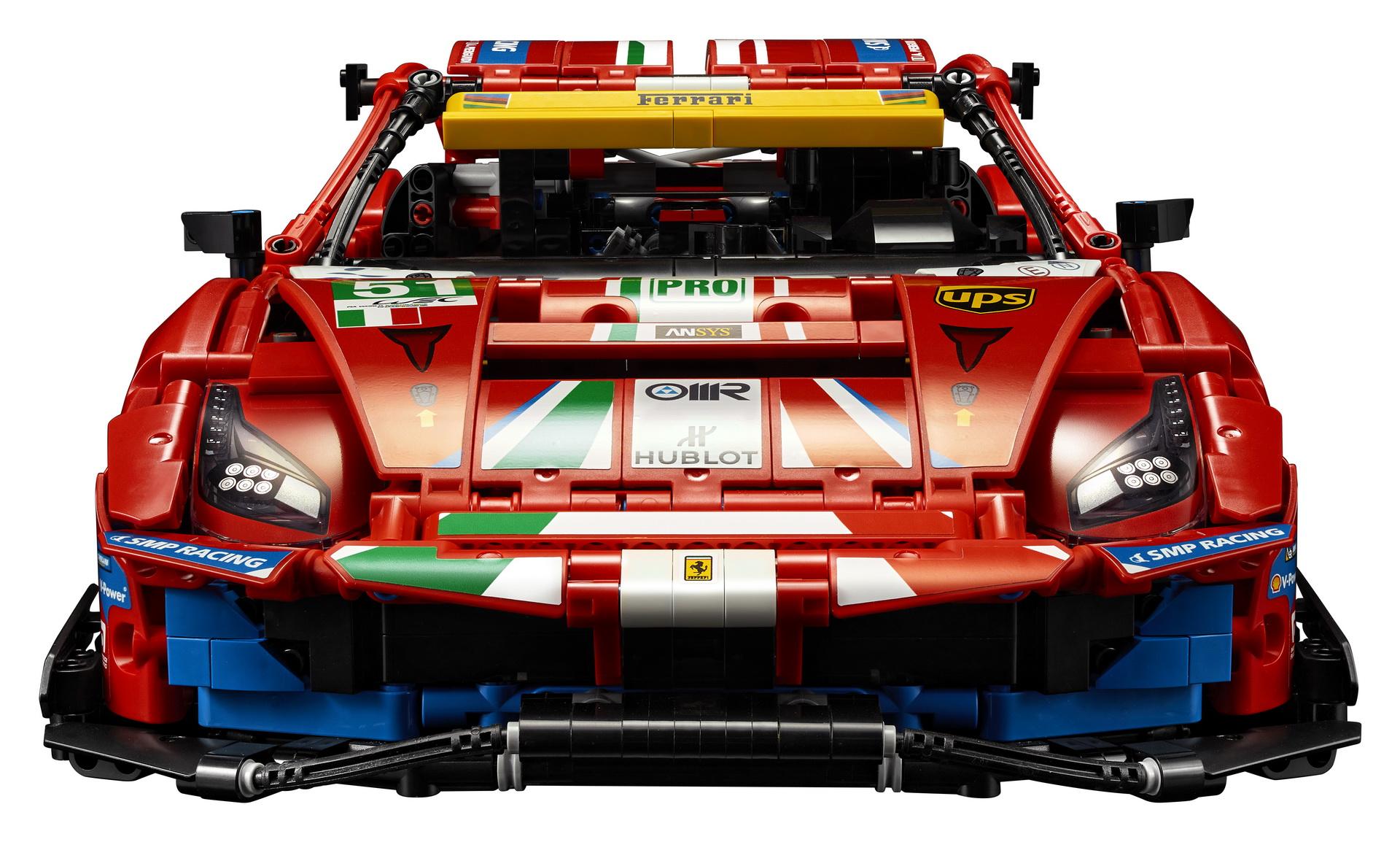 Lego Technic Ferrari 488 Gte 1