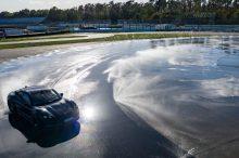 Récord mundial en drifting para el Porsche Taycan: ¡42,2 km derrapando!
