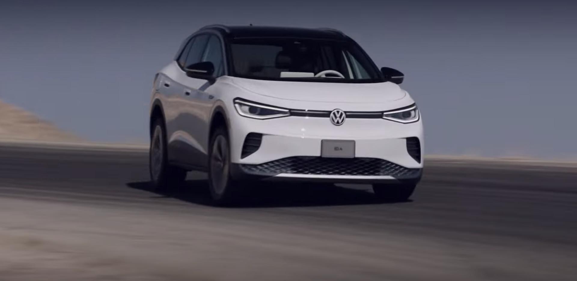 Volkswagen Id 4 Drift Video 2