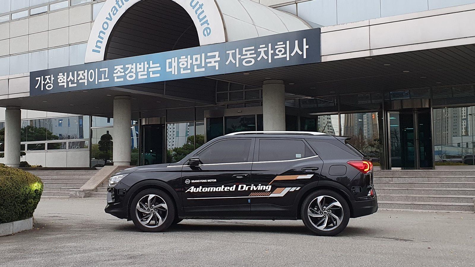 Ssangyong Korando Autonomo Nivel 3 (2)